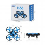 JJRC H36 Mini Drone - 2.4G 4CH 6 Axis Gyro Headless Mode RC Quadcopter RTF - One-key Return