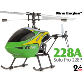 Nine Eagles (NE-R/C-228A-SOLO-PRO-G) Solo Pro 228P 4CH Helicopter RTF (Green) - 2.4GHzNine Eagles Helicopters