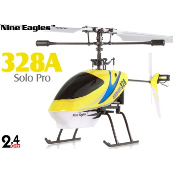 Nine Eagles (NE-R/C-328A-SOLO-PRO-Y) 4CH Solo Pro 328 Micro Helicopter RTF (Yellow) - 2.4GHzNine Eagles Helicopters