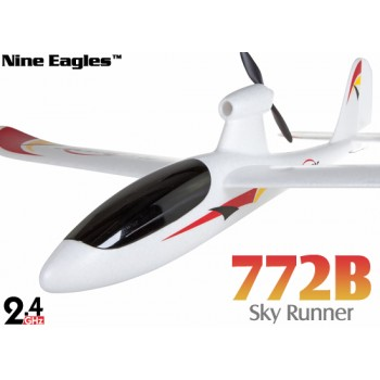 Nine Eagles (NE-R/C-772B) 3CH Sky Runner RTF Airplane - 2.4GHzNine Eagles