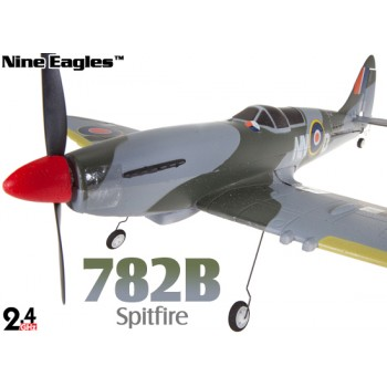 Nine Eagles (NE-R/C-782B) 4CH Splitfire Brushless Airplane RTF - 2.4GHzNine Eagles