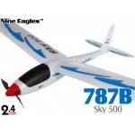 Nine Eagles (NE-R/C-787B) 3CH Sky 500 RTF Airplane - 2.4GHz