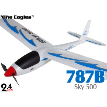 Nine Eagles (NE-R/C-787B) 3CH Sky 500 RTF Airplane - 2.4GHzNine Eagles