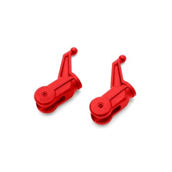Nine Eagles (NE400271) Metal Rotor Clip Set (Red)Nine Eagles 125A V2 Parts
