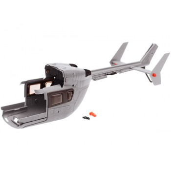 Nine Eagles (NE400498) Rear Cabin Set (Army Gray)Nine Eagles 130A Parts