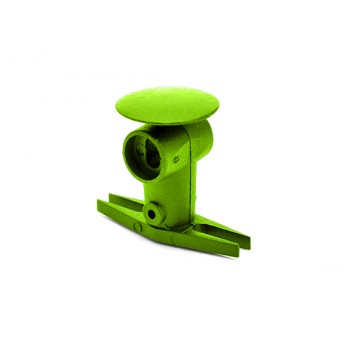 Nine Eagles (NE400574) Metal Rotor Head Set (Green)Nine Eagles 125A V2 Parts