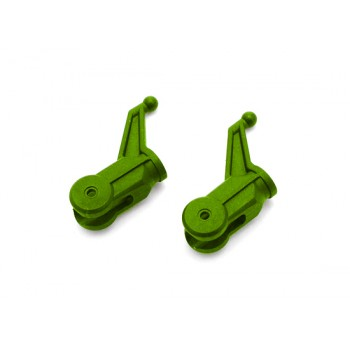 Nine Eagles (NE400575) Metal Rotor Clip Set (Green)Nine Eagles 125A V2 Parts