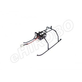 Nine Eagles (NE402210011A) Landing Skid (Black w/plug)