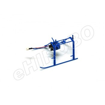 Nine Eagles (NE402320010A) Landing Skids with Plug (Blue)Nine Eagles 320A Parts