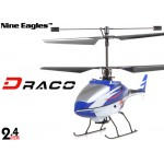 Nine Eagles (NE-R/C-210A-DRACO-B) 4CH DRACO Micro Helicopter RTF (Blue) - 2.4GHz