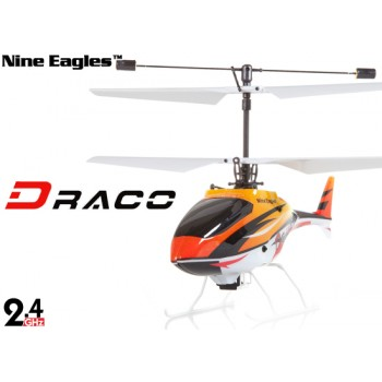 Nine Eagles (NE-R/C-210A-DRACO-O) 4CH DRACO Micro Helicopter RTF (Orange) - 2.4GHzNine Eagles Helicopters