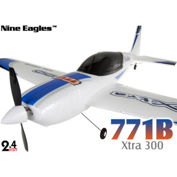 Nine Eagles (NE-R/C-771B-B) 4CH Xtra300 Airplane RTF (Blue) - 2.4GHzNine Eagles