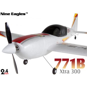 Nine Eagles (NE-R/C-771B-R) 4CH Xtra300 Airplane RTF (Red) - 2.4GHzNine Eagles