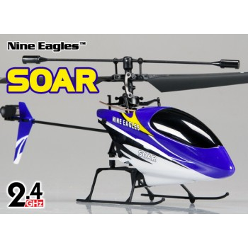 Nine Eagles (NE-R/C-260A-SOAR) 4CH SOAR (SOLO PRO) Micro Helicopter RTF - 2.4GHzNine Eagles Helicopters
