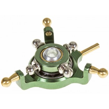 Nine Eagles (NE400576) Metal Swashplate Set (Green)Nine Eagles 125A V2 Parts