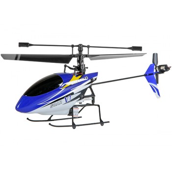 Nine Eagles (NE-30226024022) 4CH SOAR V1 (SOLO PRO V-260A) Micro Helicopter without transmitter (Blue) - 2.4GHz**Crazy Sales