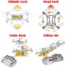 Nine Eagles (NE-MASF12-BW-M2-VP) Galaxy Visitor 3 9 Axis Gyro 4CH Altitude Hold Quadcopter with HD 720P Camera and JFN Transmitter Value Pack RTF (Black White, Mode 2) - 2.4GHz